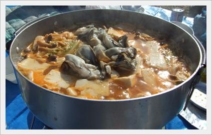 キャンプ料理 鍋