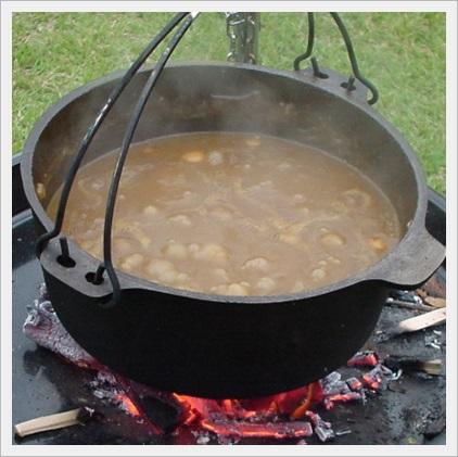 キャンプ料理 カレー