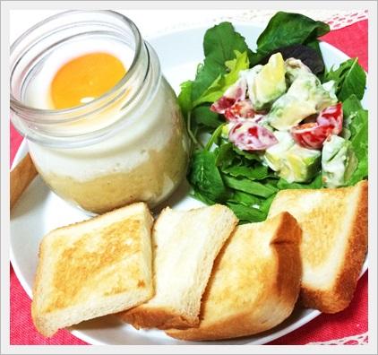 エッグスラット カロリー 理想の朝食