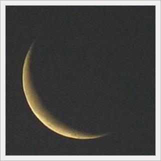 月の表情 三日月2