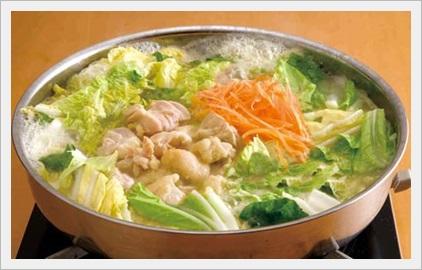とり野菜みそ鍋 鍋