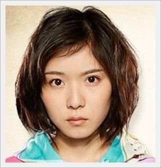 松岡茉優 髪型 ショートパーマ