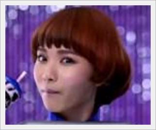 松岡茉優 髪型 グリコ