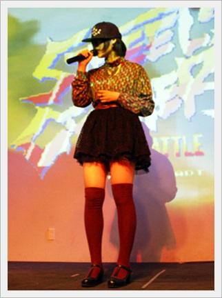 DAOKO 顔 花澤香菜 似てる かわいい 本名 高校 性格 女性ラッパー ライブ