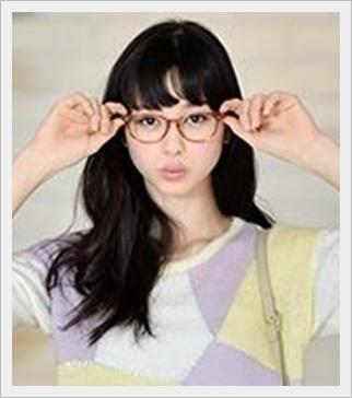 中条あやみ かわいい すっぴん メガネ 笑顔 画像 本名 メガネ2
