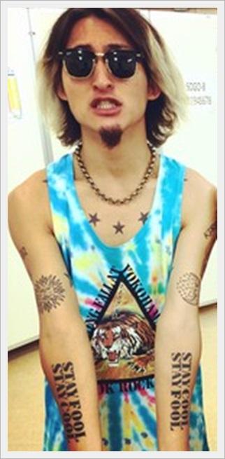 ONE OK ROCK ryotaのタトゥーの意味が!彼女と結婚して子どもが?1