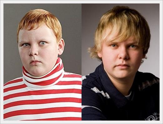 チャーリーとチョコレート工場の子役達が大人になった現在の画像wwwフィリップ・ウィーグラッツ比較