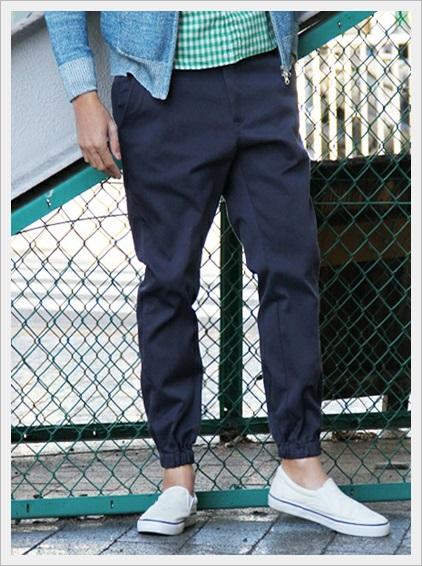ユニクロの春服メンズコーデ2017!絶対に買うべき新作ランキング!MENジョガーパンツ