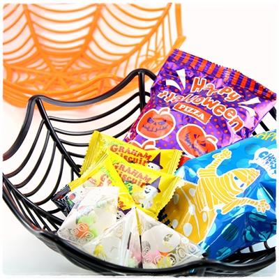 カルディのハロウィンにおすすめお菓子!半額になるのはいつから?スパイダーバスケット