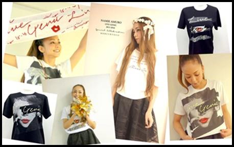 安室奈美恵のライブにおすすめの服装と靴!マナーや持ち物も予習! 3