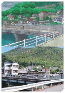 からかい上手の高木さんの登場人物!聖地(ロケ地)は小豆島以外に?八幡橋